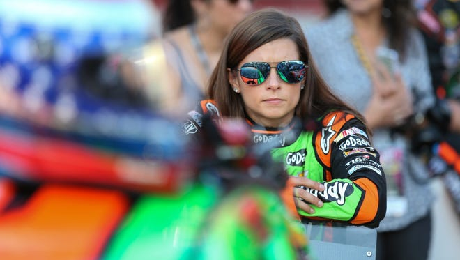 NASCAR Sprint Cup Series driver Danica Patrick.