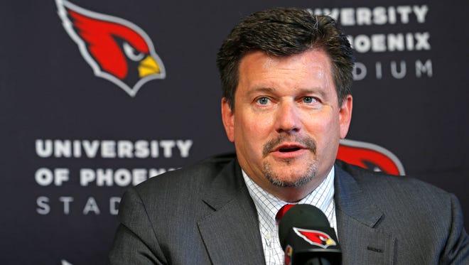 Arizona Cardinals President Michael Bidwill