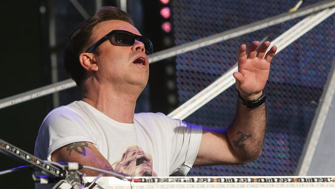 Paul Oakenfold performs during the 2013 Coachella Valley Music & Arts Festival in Indio, Calif.