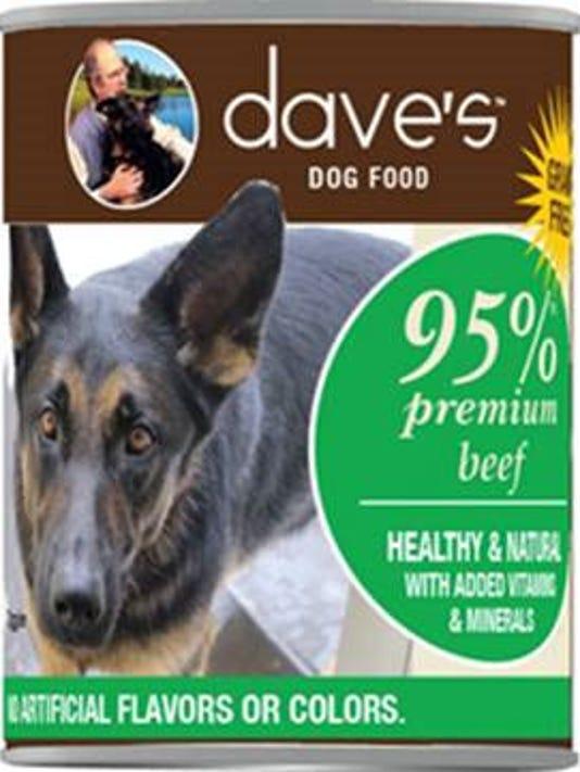 Dave's Dog Food