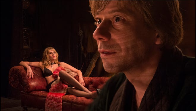 Emmanuelle Seigner (left) and Mathieu Amalric in Roman Polanski's 'Venus in Fur.'