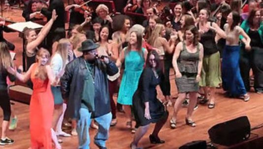 Sir Mix-A-Lot performs with the Seattle Symphony.