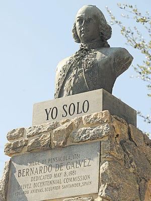 Why doesn't Bernardo de Galvez get the same love in Pensacola that Tristan de Luna gets?