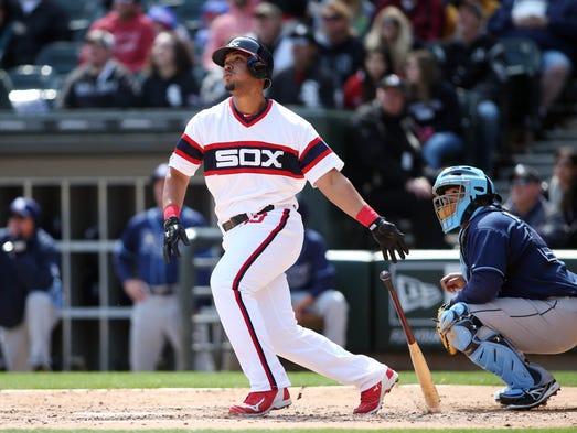 Apr 27, 2014; Chicago, IL, USA; Chicago White Sox designated