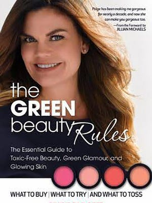 Paige Padgett's The Green Beauty Rules, the Essential Guide to Toxic-free Beauty, Green Glamour and Glowing Skin book.