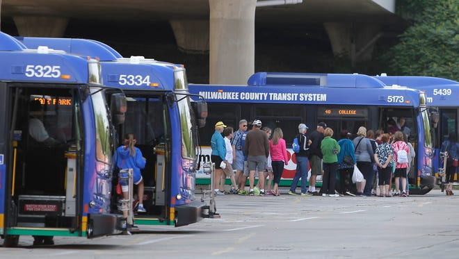 An advisory referendum on the April 4 spring election ballot in Milwaukee County asks voters if they support a $60 wheel tax to help pay for bus transit services and road and bridge repairs.