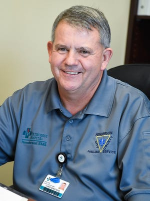 Chris Winstead has taken the position of the new Henderson Ambulance Service director for Henderson and Union counties.