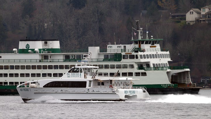 State ferry ridership continued to grow in 2017