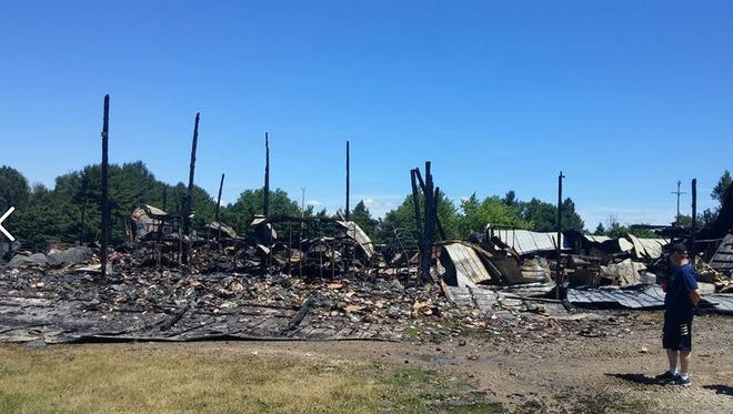 Round Lake Produce & Distrubuting is moving near the Kmart in St. Johns after a fire burned down its facility in July.