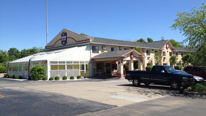 The property at 7928 Dream Street has had three names in six months: Florence Super 8 Motel, Florence Aston Hotel and, now, Concord Inn and Suites.