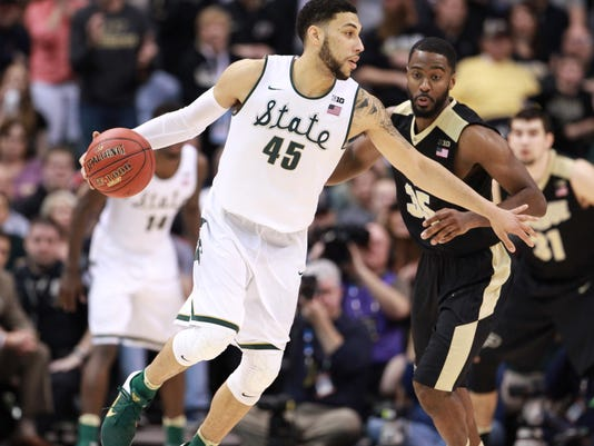 NCAA Basketball: Big Ten Conference Tournament-Michigan State vs Purdue