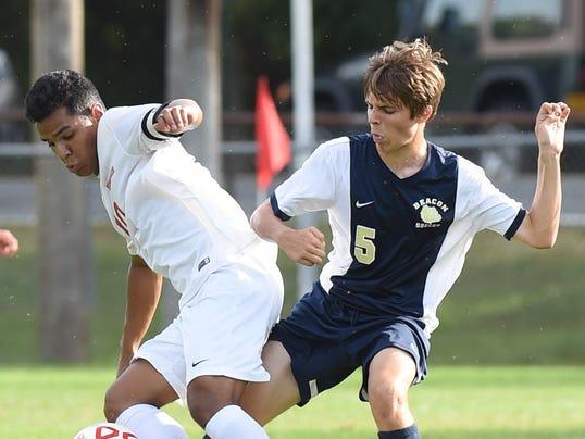 Ketcham vs Beacon boys soccer