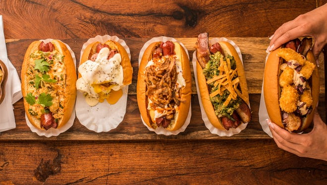 Senate sells 1,300-1,500 hot dogs a week. It's open for lunch and dinner five days a week. That's about a dog every two minutes.