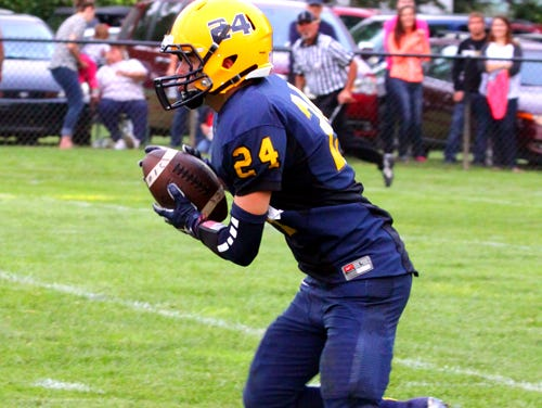 Ethan McNamara is one of the starters Owosso will have to replace this fall.