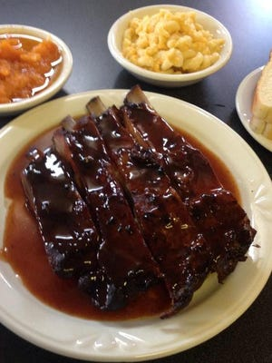K&J Rib Shack has been open in Montgomery for more than a decade.