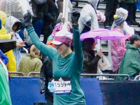 Carlie Ainsworth Boston Marathon