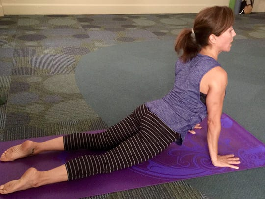 Yoga instructor Trish LaGrua says yoga can help with balance, strength, anti-aging and inflammation.