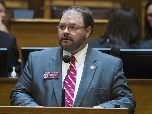 Racial Slurs Georgia Lawmaker