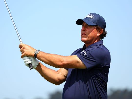 USP PGA: U.S. OPEN - PRACTICE ROUND S GLF USA CA