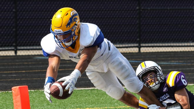 NewCath will be looking to ride senior running back Jacob Smith, who carried 23 times for 234 yards and four touchdowns last week, when NewCath faces 3-1 Conner on Friday.