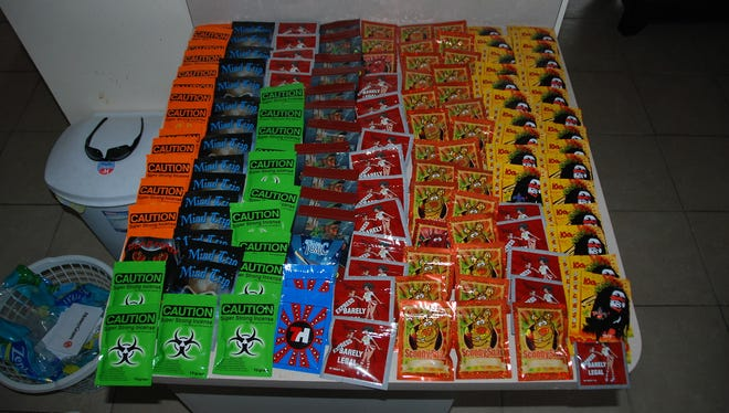 Cape Coral police found 221 bags of synthetic marijuana (5.19 lbs.) at Kadir's home