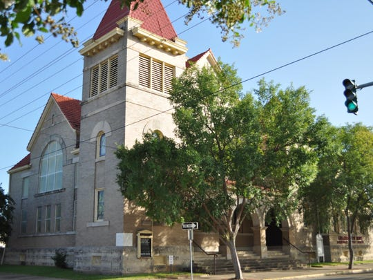Greater New Hope Missionary Baptist Church located on Jackson Street was first home to the First United Methodist Church of Alexandria.