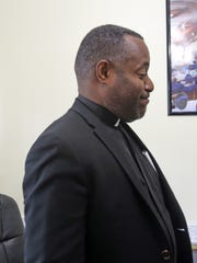 Pastor. Rev. Father Levelt Germain talks about the