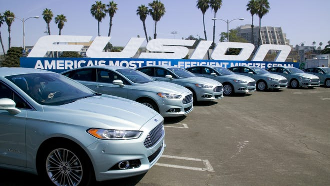 Ford's Fusion is among the models being recalled for doors that can fly open as the cars are driven.