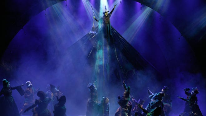 """The Broadway production of """"Wicked."""""""