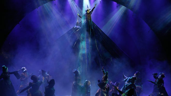 'Wicked' is scheduled to run through April 9 at the Auditorium Theatre
