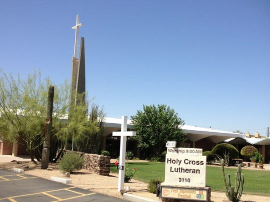 Holy Cross Lutheran Church opened in 1961, and wings for Sunday school were added in 1964.