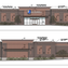 An illustration of the front (top) and back of the Goodwill expected to be built at 2665 N. Power Road.