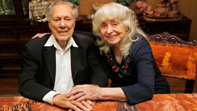 Al and Gladys Wright