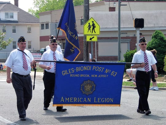 Memorial Day parades abound in Central Jersey. Pictured is the one in Bound Brook, happening this year on May 29.