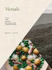 """The cover of the Appalachian cookbook, """"Victuals,"""""""
