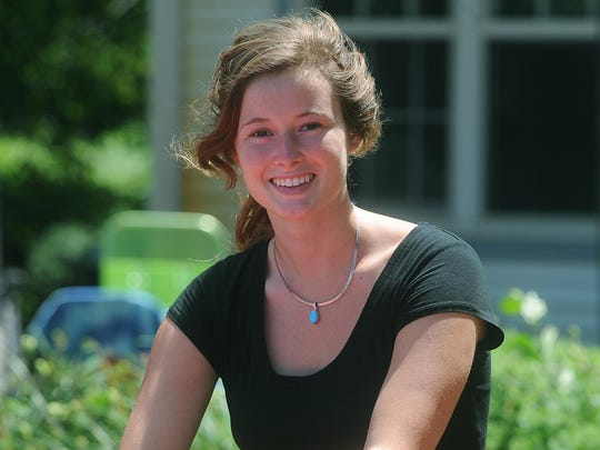 Maggie Halfman of Fond du Lac, fourth-year marine science