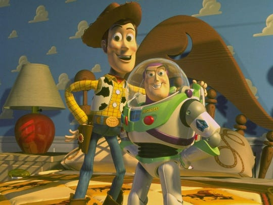 Woody and Buzz Lightyear became every child's best