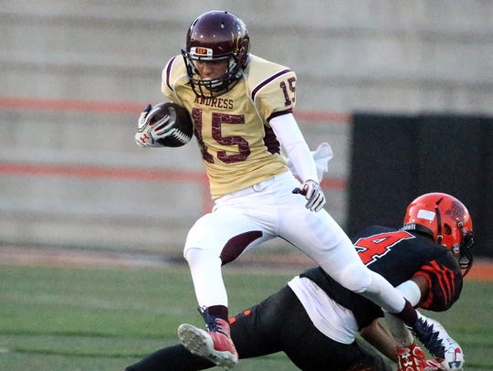 El Paso High hosted Andress Thursday night at Jones