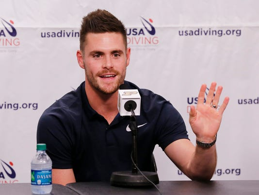 LAF Olympic chamion, WL resident David Boudia