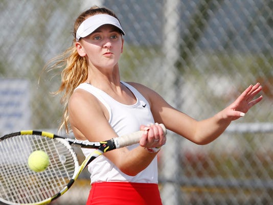 LAF McCutcheon at West Lafayette tennis
