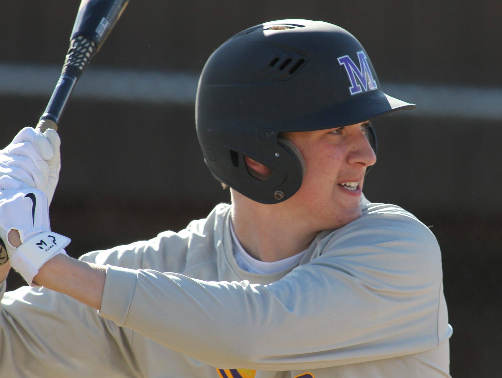Mosinee's Bryce Graveen tied for the lead in wins in the Great Northern Conference last season, and also had a .526 slugging percentage in conference play.