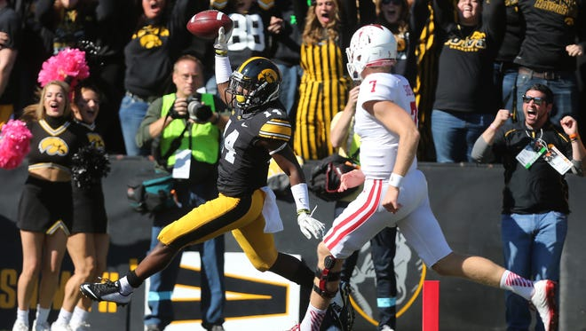 Desmond King showed his big-play ability last year as a defender, returning an interception against Indiana for a touchdown.