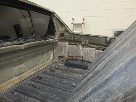 U.S. Customs and Border Protection officers seized 529 pounds of marijuana in three cases Saturday at the Santa Teresa border crossing.