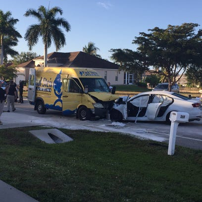 Marco Island Police and Marco Island Fire responded