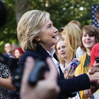 20 photos: Hillary Clinton community forum at Cornell College