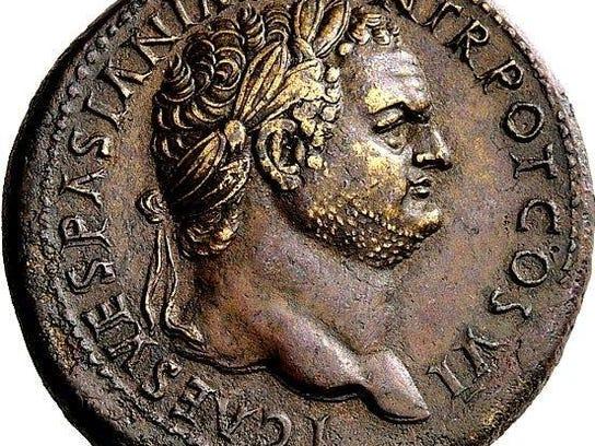 Emperor Titus Coin