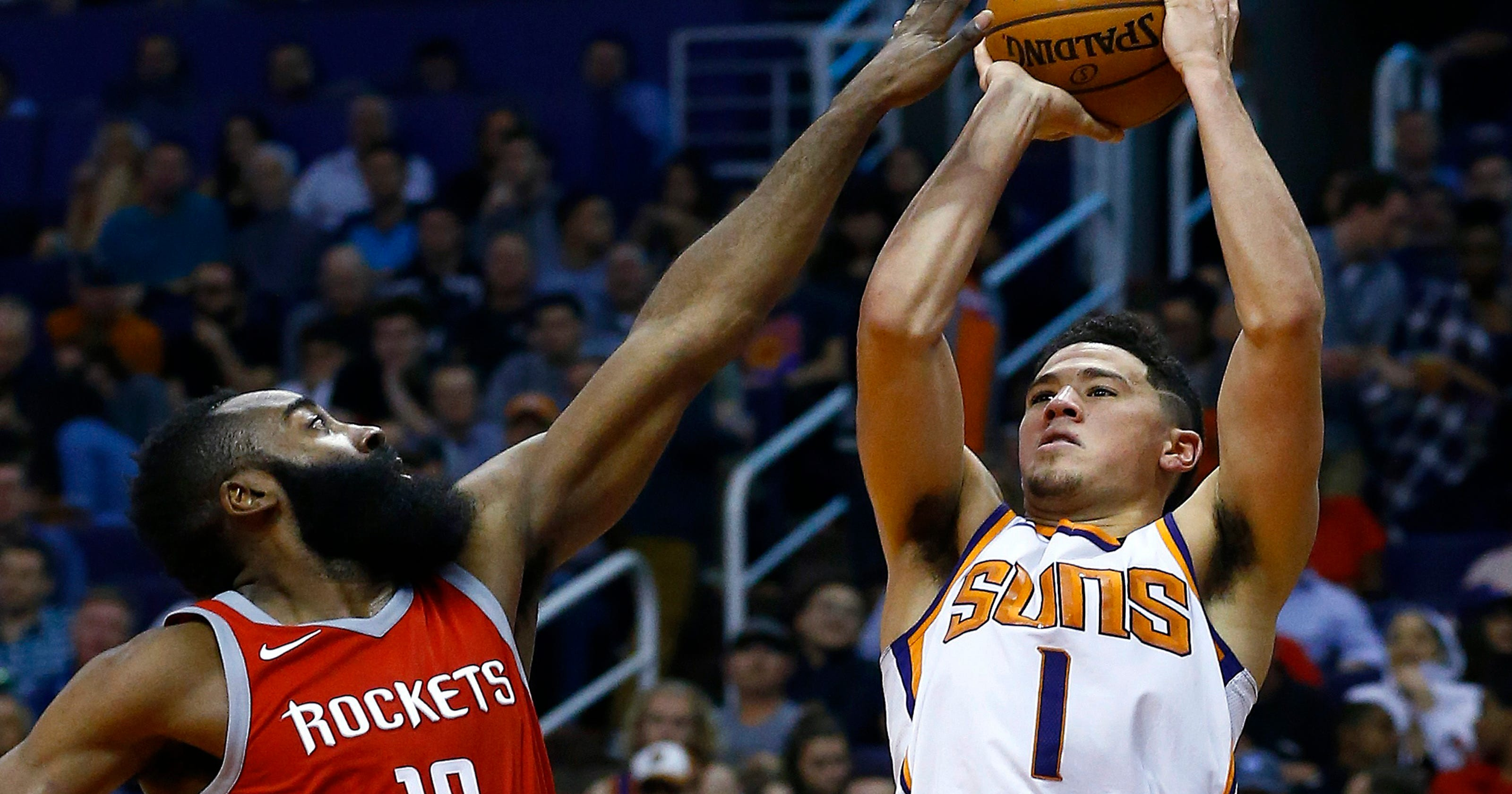 065457cabe21 Practice battles with P.J. Tucker helped Suns guard Devin Booker grow