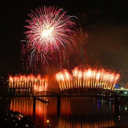 2014 Cincinnati Bell/WEBN Fireworks