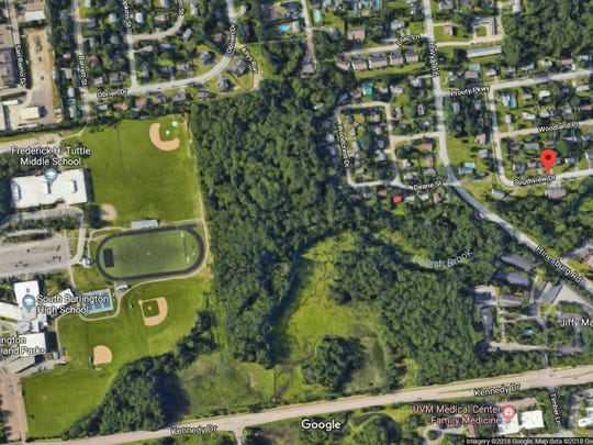 South Burlington found a dead woman at 10 Southview Drive after they received a tip on Thursday, May 4, 2018. South Burlington High School, pictured here, and all other city schools put outdoor activities on hold Friday.