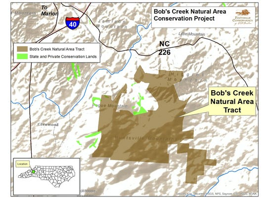 The new Bobs Creek State Natural Area is 2,900 acres